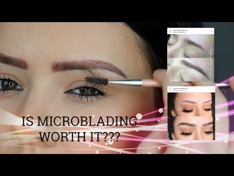 My Microblading Experience | Madeline Blauser