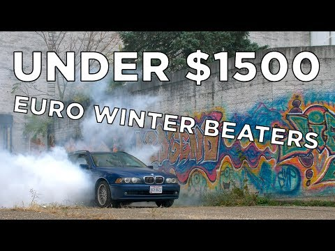 We Bought 5 Cheap Euro Cars // Winter Beater Challenge