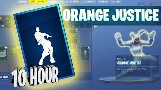 「10 Hour」 Orange Justice (Fortnite Emote)