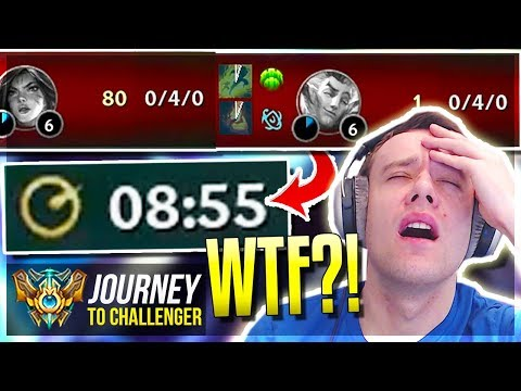 IS THIS WHAT LEAGUE HAS BECOME???? LOL - Journey To Challenger  League of Legends