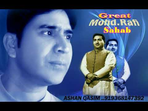 VERY VERY RARE  LIVE SONGS  GREAT MOHAMMED RAFI SAHAB