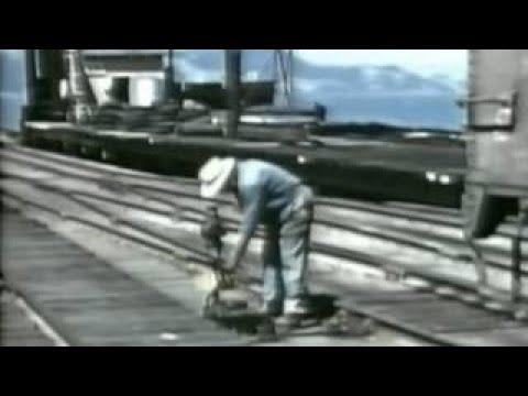 Santa Fe RailRoad Pay Day 1950s American Trains WDTVLIVE42