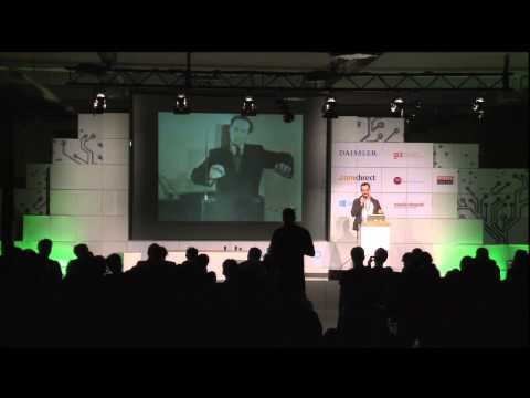 re:publica 2013 - Peter Kirn: How music can predict the human/machine future on YouTube