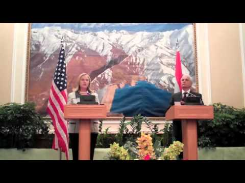 SECRETARY OF STATE HILLARY RODHAM CLINTON TRAVELS TO TAJIKISTAN