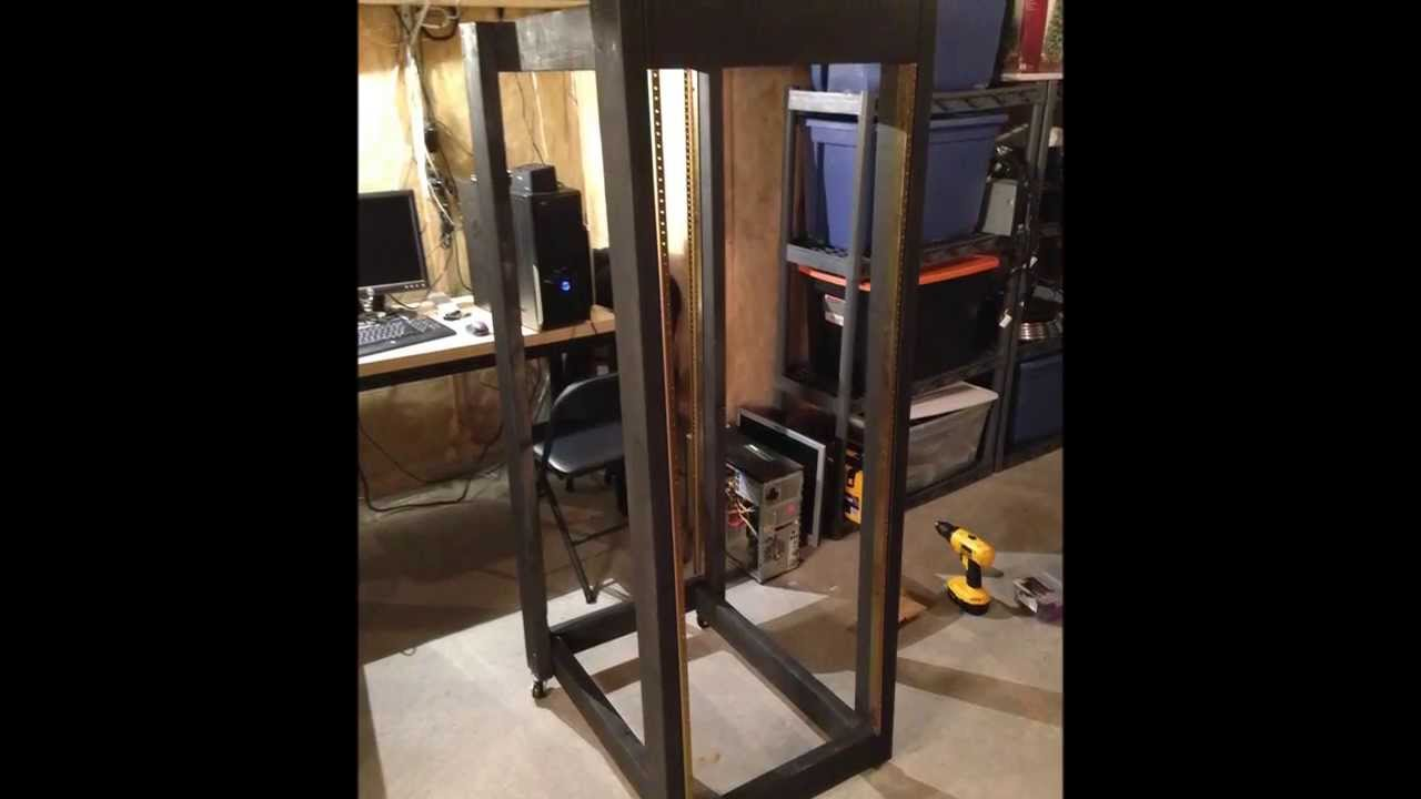 Server Rack DIY - YouTube