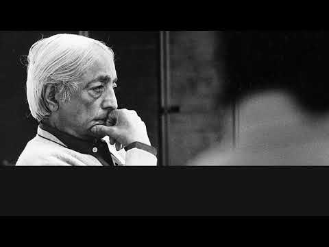 Audio | J. Krishnamurti – Claremont 1968 – Students Talk 2 – Thought is the cause of fear