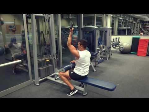 Single Arm Lat Pulldown (Exercises.com.au)