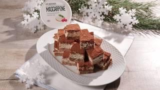 Ореховый торт с кремом из маскарпоне