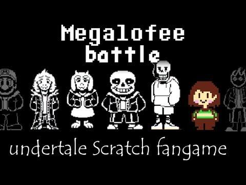 [Scratch] Megalofee battle play![Demo,undertale fangame]