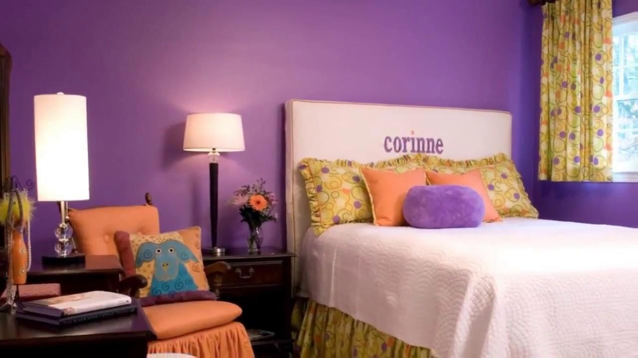 69 Purple Paint Colors For Bedrooms