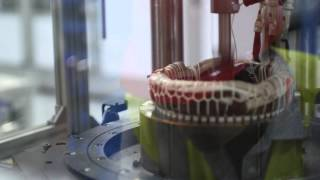 Tesla Model S Motor Production