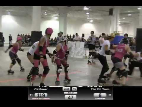 Bout Blanche CN Power vs HCRG Eh! Team Period 1 - Boutcast