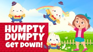 Humpty Dumpty Get Down the Wall | Nursery Rhythms | Kids Songs | Sing O Learn