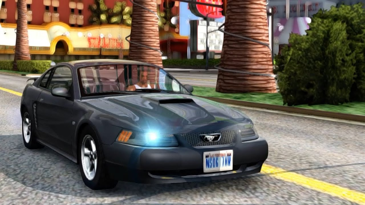 2003 ford mustang gt gta san andreas youtube. Black Bedroom Furniture Sets. Home Design Ideas