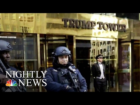 Keeping NYC Trump Tower Safe: An Unprecedented Challenge | NBC Nightly News