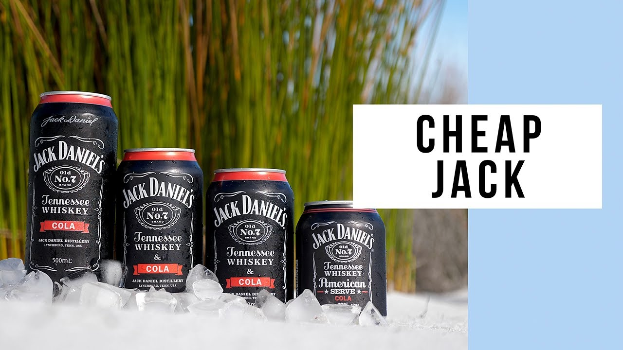How To Buy The Cheapest Jack Daniel's And Cola Premix In Australia