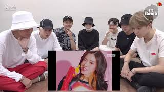 BTS REACTION TO ITZY - DALLA DALLA MV ( MV FULL TEASER)
