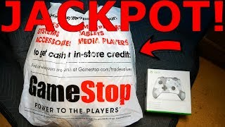 Big Jackpot!! Gamestop Dumpster Dive Night #877!