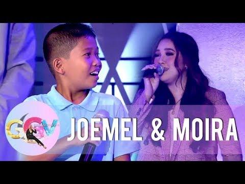 Moira joins Joemel in singing 'Tagpuan' | GGV