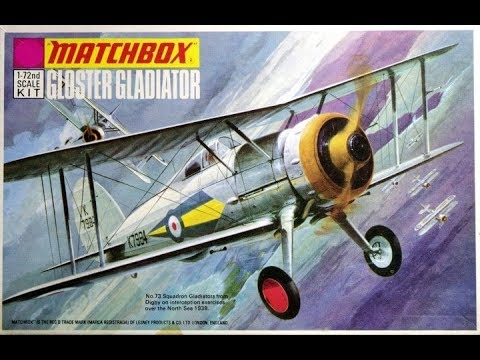 Matchbox Gloster Gladiator 1 72nd Scale Inbox Review