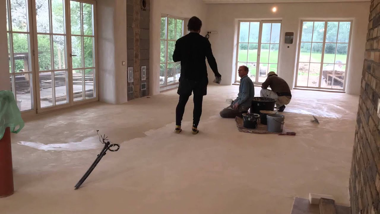 Natural clay floor masters youtube for Floor masters