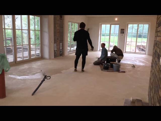 Natural clay floor masters