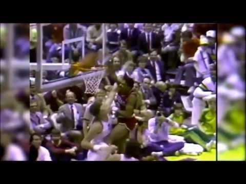 Dr. J's Monstrous Jam Over Mark Eaton (1985)