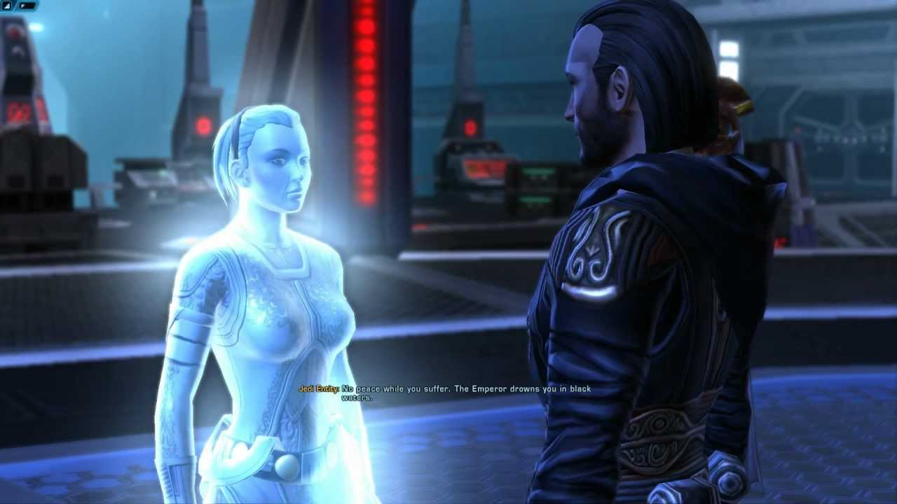 how to start a dark vs light character swtor