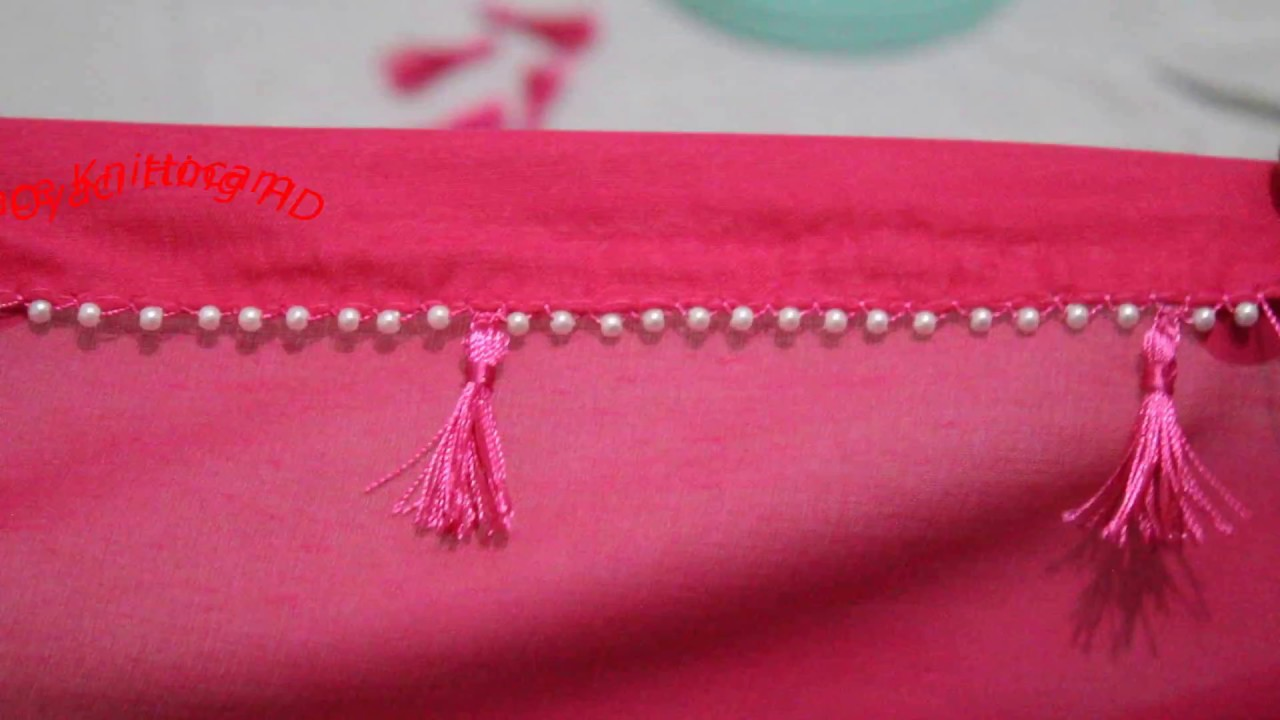 Needle Lace With Tassel   Lace And Knitting HD