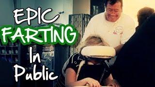 Epic Farting In Public Prank (ft. EpicFiveTV)