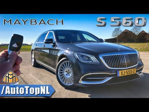 2019 Mercedes-Maybach S560 REVIEW POV Test Drive on AUTOBAHN & ROAD by AutoTopNL