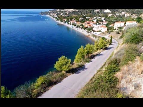 Ilia Mare Hotel - Ilia Edipsos, Evia Island, Greece - Aerial View