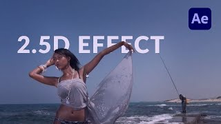 So Erstellen Sie eine 2,5 D (Pseudo 3D) Parallax-Effekt in After Effects - TUTORIAL