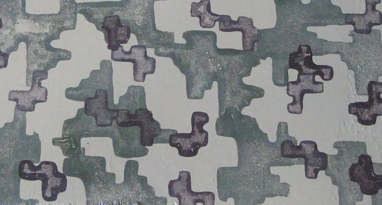 How To Paint Digital Camo On A Wall
