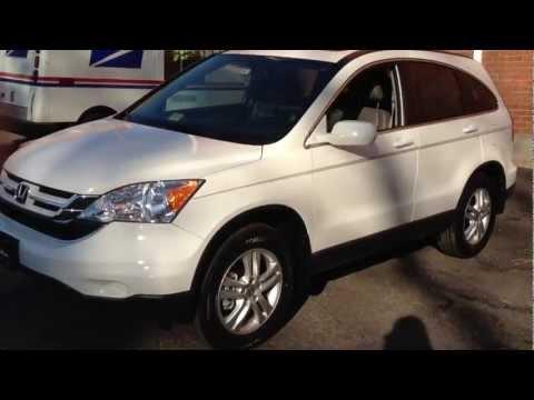 2011 Honda CR-V EX-L Review, Walk Around, Quick Drive, Interior, Start Up & Rev