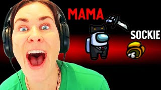 MAMA KILLED SOCKIE IN AMONG US Gaming w/ The Norris Nuts