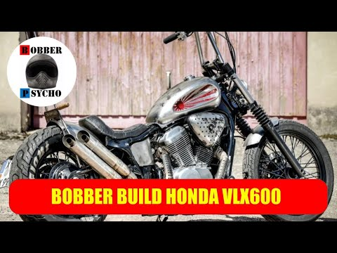 Honda Shadow LVX 600 Bobber Project - My Passion In Building