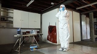 How to properly wear personal protective equipment for airborne contaminants