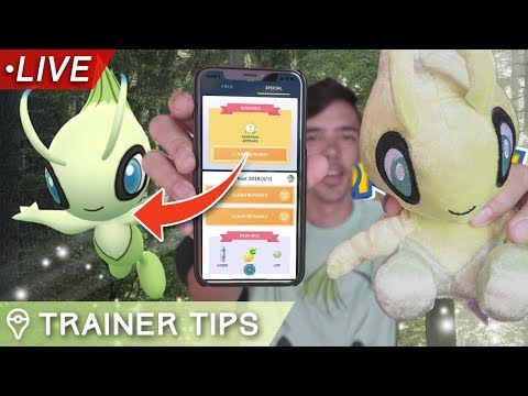 LIVESTREAM: NEW CELEBI RESEARCH IN POKÉMON GO!
