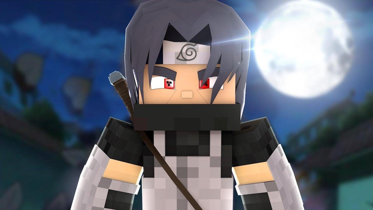 Minecraft: SHINOBI - EU SOU UCHIHA ITACHI #11 ‹ Sky ›
