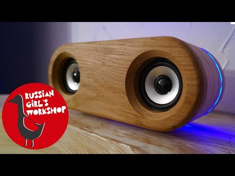 DIY WIRELESS BLUETOOTH SPEAKER with LED LIGHT