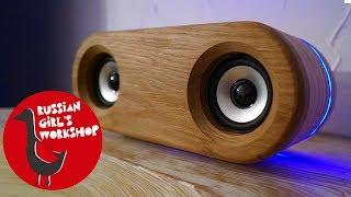 DIY WIRELESS BLUETOOTH SPEAKER with LED LIGHT