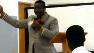 Bishop Chea @ United Nations Christian Center in Concord, California.MOV