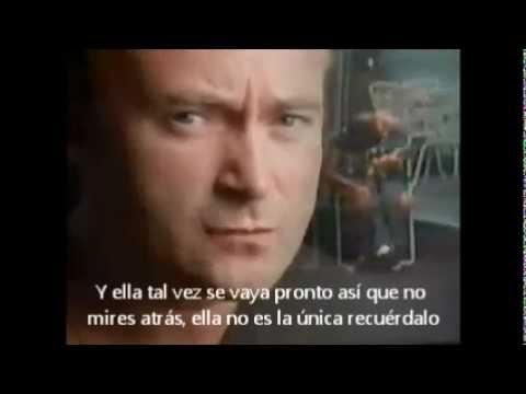 PHIL COLLINS-Father to son- Subtitulado al español - YouTube