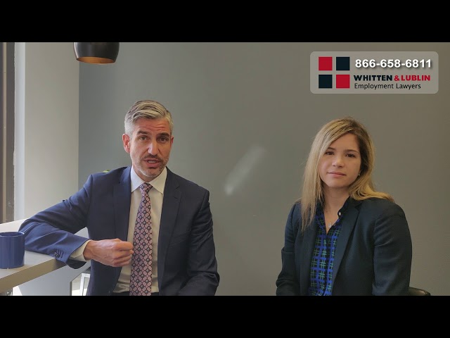 What is Wrongful Dismissal?   866-658-6811 (Toronto Employment Lawyers)