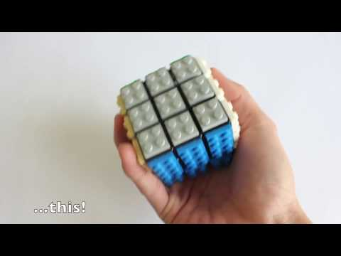 Lego Mod: Rubik's Cube Instructions