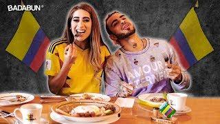Youtubers Prueban Comida Colombiana Por Primera Vez