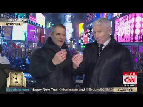 Leah Tyler Blog - That face!  Anderson Cooper Takes a Tequila Shot...