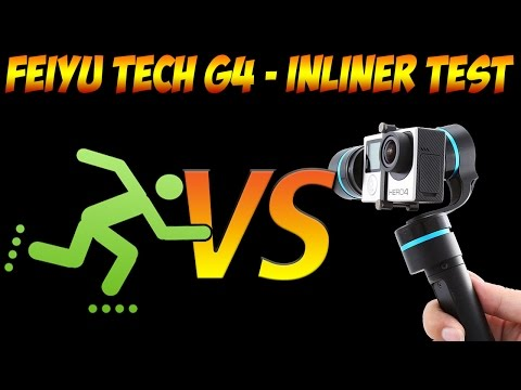 Feiyu tech g4 handheld gimbal vs no Gimbal - GoPro 3 test with inliners