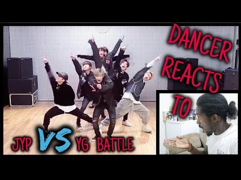 Dancer Reacts To JYP vs YG Dance Battle - Stray Kids Full Cam